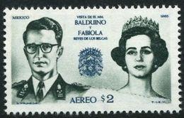 Mexico 1965 King Baudouin Of Belgium Unmounted Mint. - Mexico