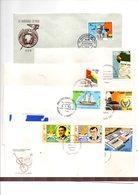 LAB671 - CAPO VERDE , Sette FDC  Diverse - Isola Di Capo Verde