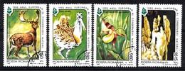 ROUMANIE Mi.nr:5099-5102 Naturschutzjahr 1995 Oblitérés - Used - Gebruikt - 1948-.... Républiques