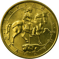 Monnaie, Bulgarie, 5 Leva, 1992, SUP, Nickel-brass, KM:204 - Bulgarie