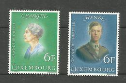 Luxembourg N°872, 873 Neufs** Cote 4.00 Euros - Unused Stamps