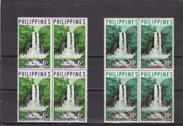 Filipinas Nº 490 Al 491 En Bloque De Cuatro - Filipinas
