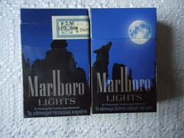 GREECE USED BOX EMPTY MARLBORO LIMITED EDITION - Empty Tobacco Boxes