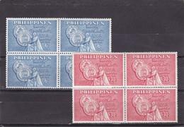Filipinas Nº 493 Al 494 En Bloque De Cuatro - Filipinas