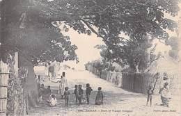 Afrique > Sénégal  DAKAR Dans Le Village Indigène (Cpa  Dos:SIMPLE Fortier Dakar N° 158) * PRIX FIXE - Senegal