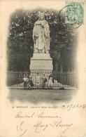 33 - Bordeaux - Statue De Michel Montaigne - Animée - Précurseur - Oblitération Ronde De 1902 - Voir Scans Recto-Verso - Bordeaux