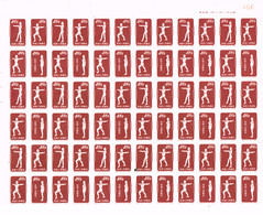 "China P.R. 1952 , "" Radio Gymnastik "" Mi. 151 - 153  Im Halbbogen, Ungebraucht - 1949 - ... Repubblica Popolare"