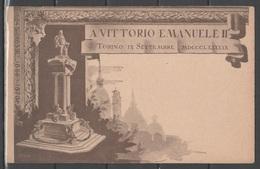 Torino - Inaugurazione Monumento A Vittorio Emanuele II (1899) - Mole Antonelliana