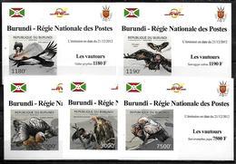 BURUNDI Epreuve Luxe  N° 1794/97 BF 288 * *  NON DENTELE Oiseaux Rapaces Vautours - Aigles & Rapaces Diurnes