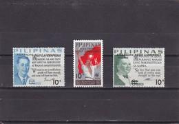 Filipinas Nº 876 Al 878 - Filipinas