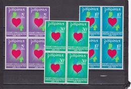 Filipinas Nº 882 Al 884 En Bloque De Cuatro - Filipinas