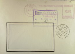 """DDR: ZKD-Fern-Brief Mit AFS =030= Zwickau """"VEB Strickwarenfabriken AKTIVIST""""  OSt. 6.9.67 Nach Dresden - DDR"""