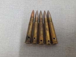 Lot De 5 Cartouches 303 British Ww2(NEUTRALISEE) - Armes Neutralisées
