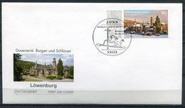 """Germany 2016 First Day Cover Mi.Nr.3200 Ersttagsbrief""""Burgen Und Schlösser,Löwenburg,Kassel """" 1 FDC - Schlösser U. Burgen"""