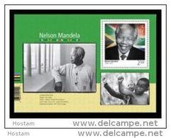 CANADA 2015. #2805   NELSON MANDELA. Souvenir Sheet Of 2.50 $ Stamp - Blocs-feuillets