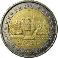 Allemagne, 2 Euro, 2007, TTB, Bi-Metallic - Allemagne