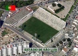 Portugal Faro Sao Luis Stadium New Postcard Stadion AK - Fussball