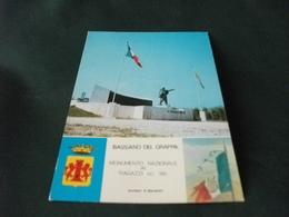 MONUMENTO AI CADUTI  BASSANO DEL GRAPPA MONUMENTO NAZIONALE  RAGAZZI DEL 99 STEMMA BANDIERA ITALIANA SCULTORE SPARAPANI - Monumenti Ai Caduti