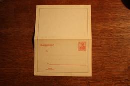 ( 2697 ) Ganzsachen  Deutsches Reich  Kartenbrief K 13  * -  Erhaltung Siehe Bild - Stamped Stationery