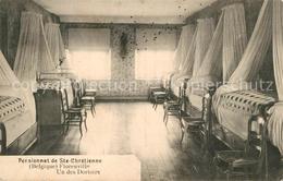 43499093 Florenville Pensionnat De Ste Chretienne Un Des Dortoirs Florenville - Belgique