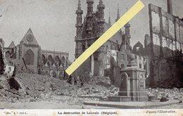 Louvain Belgique Guerre 14/18   Destruction De La Ville - Andere