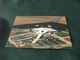 AEROPORTO AIRPORT AEROPORT  INTERNATIONAL DE ROUEN VALLEE  DE SEINE VISIONE AEREA - Aerodromi