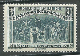 France YT N°444 Révolution Française Neuf/charnière * - Unused Stamps