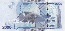 Uganda P.50d 2000 Shillings 2017   Unc - Uganda