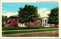 Senior High School Waycross Georgia 1941 Curteich - Schools