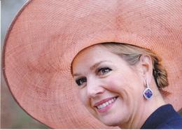 Queen Maxima  King  Willem Alexander Beatrix Amalia  Netherlands ( R 110 - Familles Royales