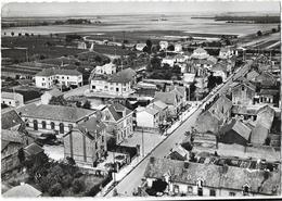 EN AVION AU - DESSUS DE ... LE MESNIL - Sur - OGER ( Marne ) AVENUE DE LA REPUBLIQUE - France
