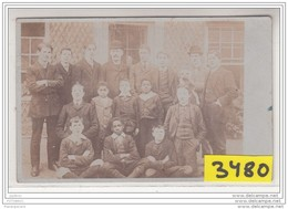 7899 AK PC CARTE PHOTO 3480 ANGLETERRE GROUPE D ETUDIANTS SPRINGFELD COLLEGE A ACTON - Middlesex