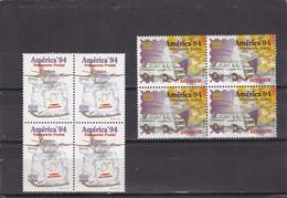 Ecuador Nº 1316 Al 1317 En Bloque De Cuatro - Ecuador