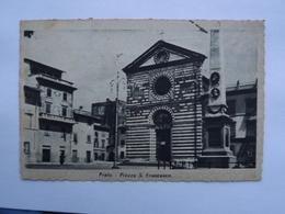 Q8 CARTOLINA Di PRATO   VIAGGIATA - Prato