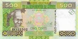 Guinea P.47 500 Francs 2017  Unc - Guinea