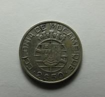 Portugal Moçambique 2 1/2 Escudos 1938 Silver - Portugal