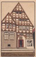 CARTOLINA - POSTCARD - GERMANIA -  BIELEFELD - ALTES HAUSA D. KREUSA A. D. KREUZSTR - Germania