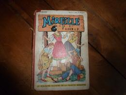 Année 1953 (N° 7 - 8 - 9 - 10- 11- 12- )  De MIREILLE Le Magazine Illustré De La Fillette Moderne - Lots De Plusieurs Livres