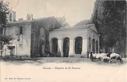 06 - CPA CANNES Chapelle De ST Cassien RARE - Cannes
