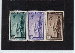 1949 - E R P SERIE LING.* VEDI++++ - 1946-.. République