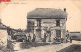 06 - CPA AVAUX  Le Chateau La Poste  RARE - France