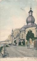 CPA - Belgique - Dinant - Hôtel De Ville Et Eglise - Dinant