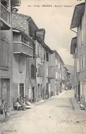 09 - CPA BELESTA Rue Du Castella - Francia
