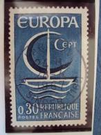 """60-69-timbre Oblitéré N°    1490""""    EUROPA Bleu  0.30   """"    0.30 - Oblitérés"""