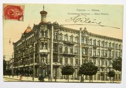 C.P.A. Couleur : UKRAINE : ODESSA : Hôtel Bristol, Stamp 1908 - Ukraine