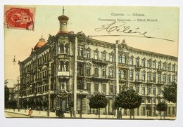 C.P.A. Couleur : UKRAINE : ODESSA : Hôtel Bristol, Stamp 1908 - Ucrania