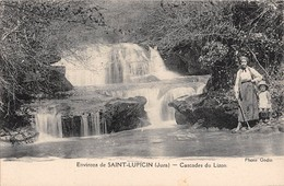 39 - CPA  SAINT LUPICIN Cascade Du Lizon - Otros Municipios