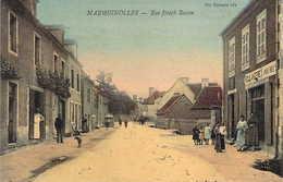 03 ALLIER MARMIGNOLLES Lot De 2 Cartes Rue Joseph Besson Et Rue De Paris  Superbes Cartes Toilées - Francia