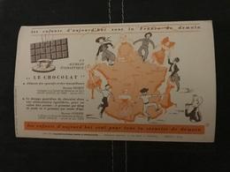 BUVARD ANCIEN ASSURANCE ALLIANCE PUB CHOCOLAT - Cocoa & Chocolat