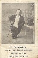 M. BAGONGHY, Le Plus Petit écuyer Du Monde, âge De 22 Ans, Son Poids 20 Kilos (att Bien Regarder)  33 - Reitsport